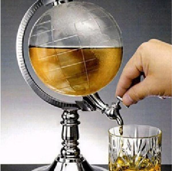 2019Unique Design Mini Globe Shape Главная Ночной клуб напитки Ликер Диспенсер Пиво Жидкость Питьевой диспенсер станкостроительный