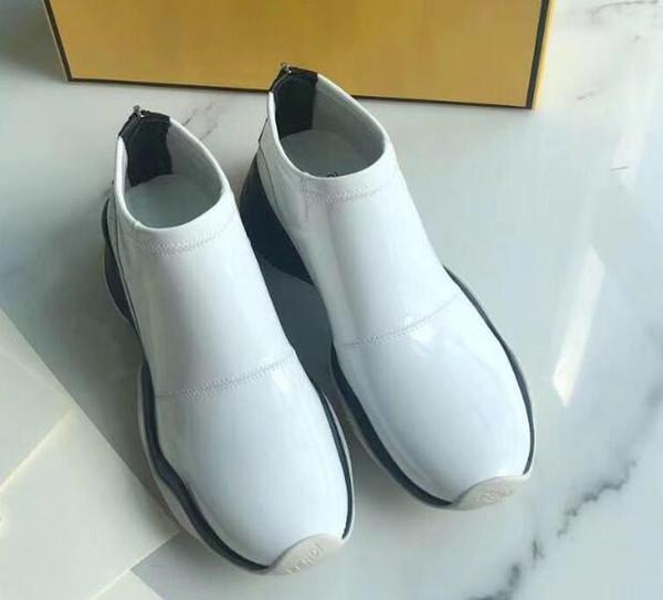 2020 yeni sıcak kadın moda yarım bot, tasarımcı klasik patlama bayanlar gündelik vahşi spor ayakkabıları, toptan ücretsiz gönderim