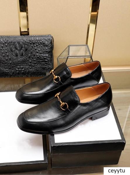 Homens s Sapato Snakeskin Grain Leather Men Wedding Oxford sapatos de amarrar Escritório Suit Men s Casual sapatos de luxo YECQ 19ss italiano