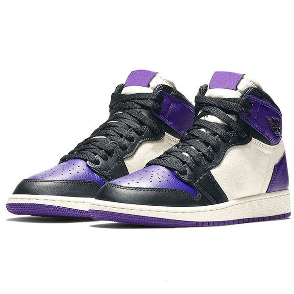 A13 Court Purple with black mark