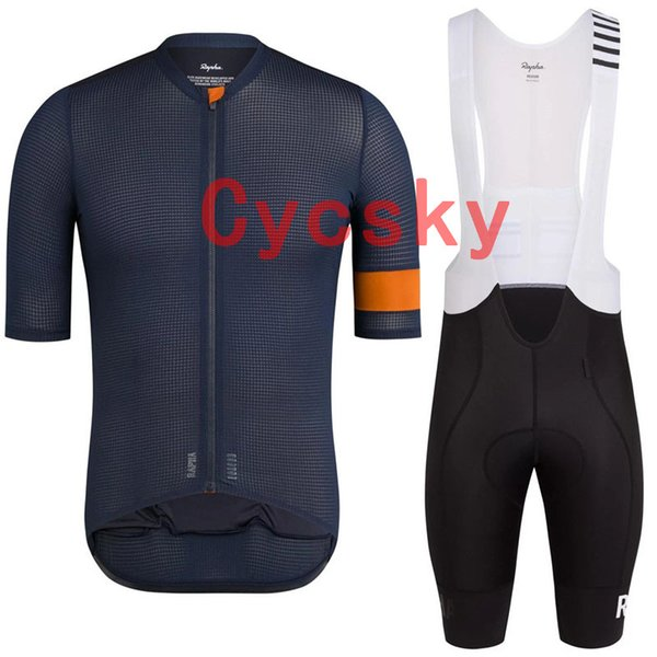 2019 Men Rapha team Cycling Jerseys Bib Shorts traje de secado rápido transpirable bicicleta Ropa ropa deportiva al aire libre ropa ciclismo ropa deportiva