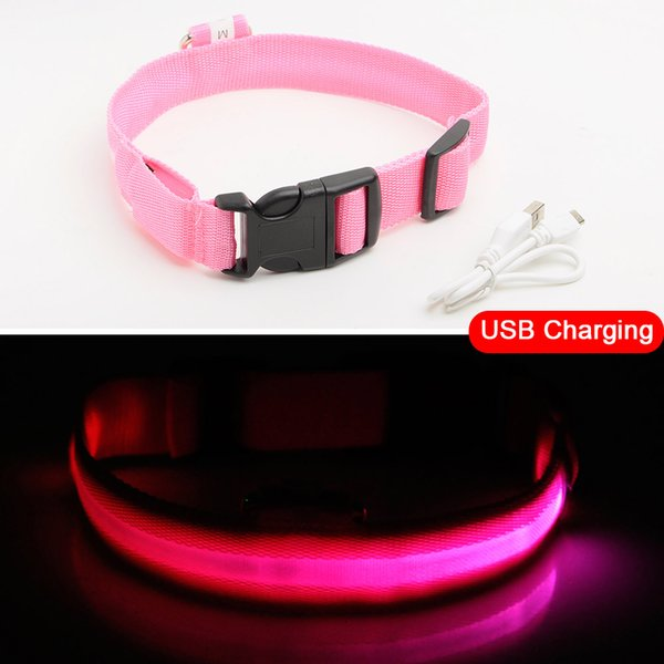 Pink USB Charging