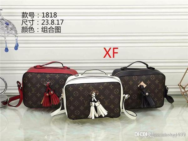 2019 Yeni Tasarımcı Çanta yılan deri kabartmalı moda Kadın çanta zincir Crossbody Çanta Marka Tasarımcı Messenger Çanta ana kesesi XF818
