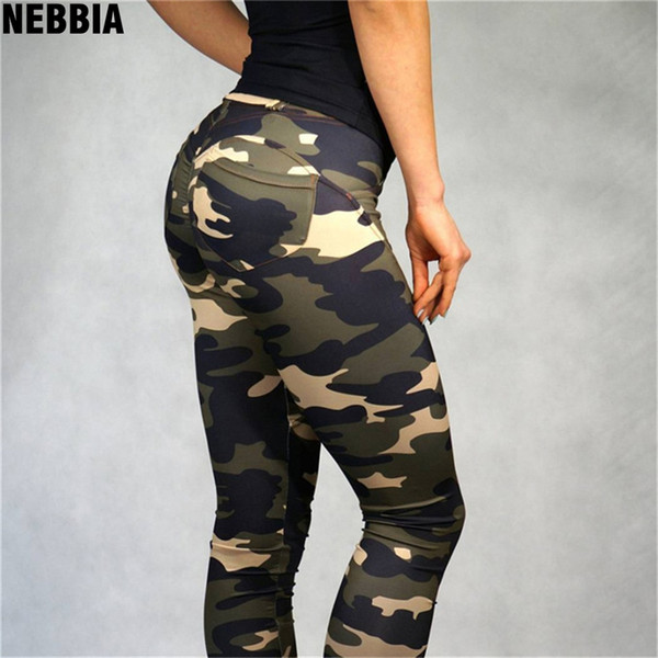 03890a87c5773 NEBBIA NEW Womens Sport Camouflage Workout Gym Yoga Leggings Fitness Sports  Trouser Athletic Yoga Pants Sportswear