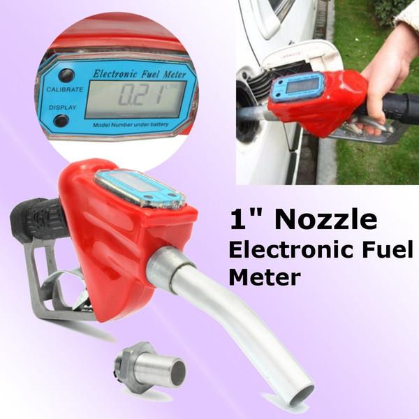 Auto Accessories Fuel Gasoline Diesel Petrol Delivery Flow Meter Nozzle Refill Gun Dispenser Diesel fuel gun