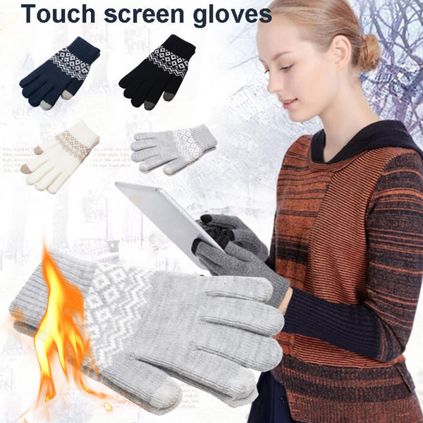 practical riding glove ski gloves 4 color mobile phone motorcycle bicycle winter warm gloves durable touch screen non slip m