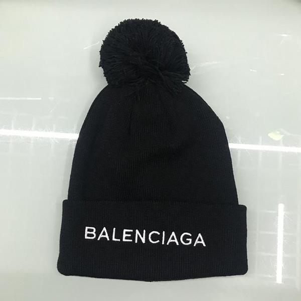 2018 cappelli lavorati a maglia del progettista superiore del marchio per i cappelli degli uomini e delle donne di modo nuovo cappello casuale dei cappelli da sci di inverno all'ingrosso Trasporto libero