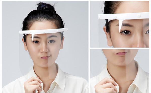 maschera facciale trasparente
