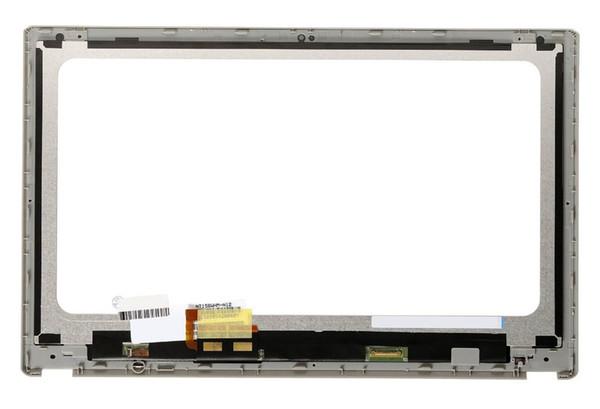 New Laptop substituição touch Screen digitador Para Aspire V5-531 V5-531P V5-571 V5-571P V5-571PG lcd assembléia com frame