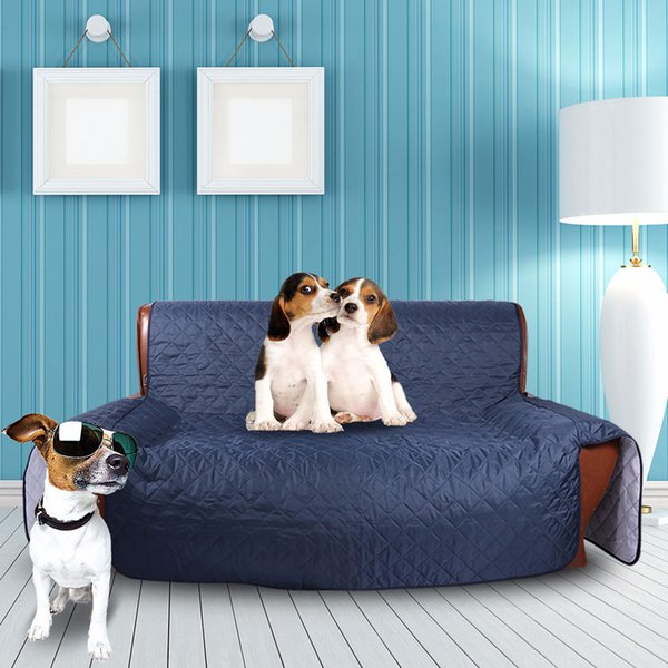 Wholesale 4 Color Multi Function Dog Sofa Bed Dog Mat Dog Blanket Cat Kennels Washable Nest Cushion Pad for Pet Supplies House BH0313