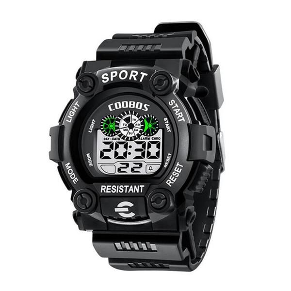Orologio sportivo di moda LED digitale orologio da polso Impermeabile orologio militare bambini studenti luminoso calendario di allarme Orologi Boy Girl Gift Watch
