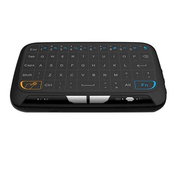 H18 Mini 2.4GHz Wireless Backlit Touchpad Keyboard Full Screen Mouse Touchpad Combo For MAC OS Windows Android TV Box Linux