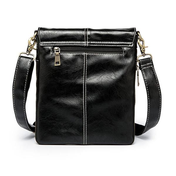 Leather Men Bag Fashion Leather Crossbody Bag Shoulder Men Messenger Bags Small Casual Designer Handbags Man Bags