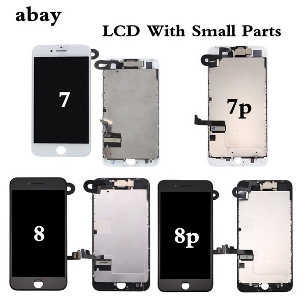 New Complete LCD For iphone 7 7 Plus 8 8 Plus LCD Display Full Assembly With Touch Screen With Front Camera Without Home Button