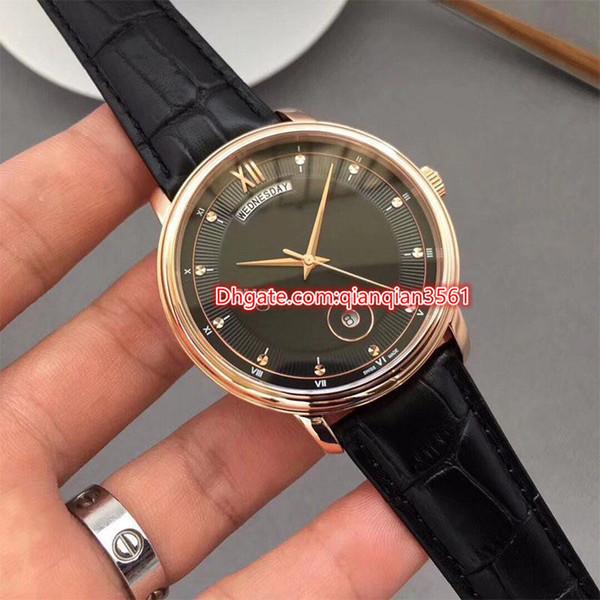 Sıcak lüks İzle Satmak Erkekler S Spor Daydate Serisi paslanmaz çelik kasa Otomatik Mekanik Saatler moda Saatı Lusso Da Pols