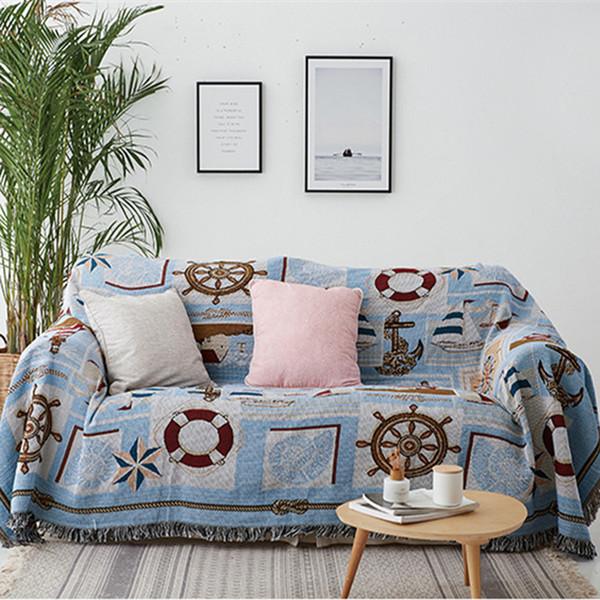 Nordic Throw Blanket Multifunction Nautical Lighthouse Decor Slipcover  Cobertor Sofa Bed Non Slip Stitching Soft Sheet Blankets Zebra Print  Electric ...