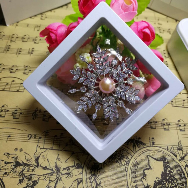 High Quality Transparent PE film Display Box Suspension box Jewelry Ring Bracelet Brooch Small Commodity Gift Wholesale