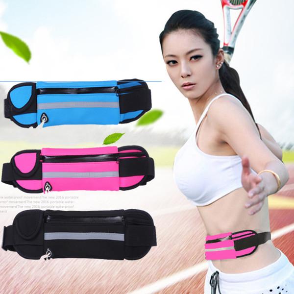Armband For ZTE Grand S Flex / KIS Plus V788D / X V970 Fitness Waist Belt Bag Sports Running Male Women Cell Phone Case Arm Band