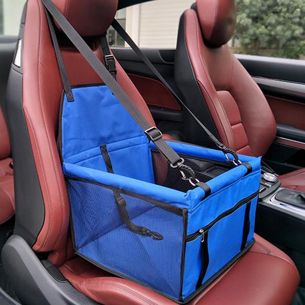 Оксфорд Водонепроницаемая сумка для перевозки домашних животных Сумка для кошек Складная собака Автокресло Чехол Гамак Transportin Perro Autostoel Hond