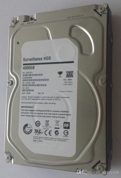 4TB SATA Hard Disk Drive Seagate HDD Hard Drive Memory 4000GB 64MB 5400rpm high quality Hard Drives for PC Serve and Security Video Recorder