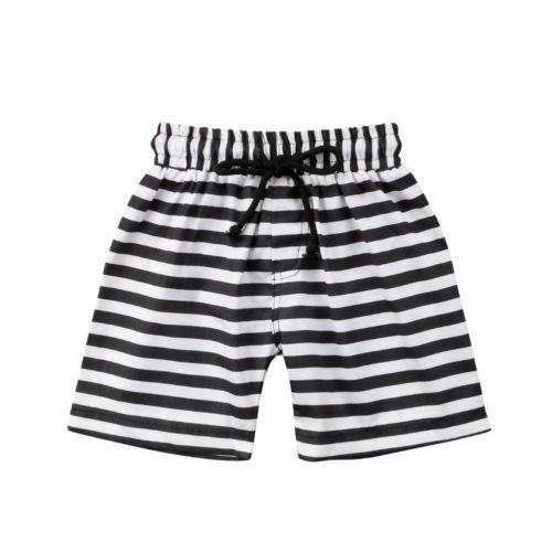1-6T Hot Sale 2019 New Fashion Toddler Kids Baby Boy Floral Striped Print Shorts Beach Pants Casual Sport Trousers