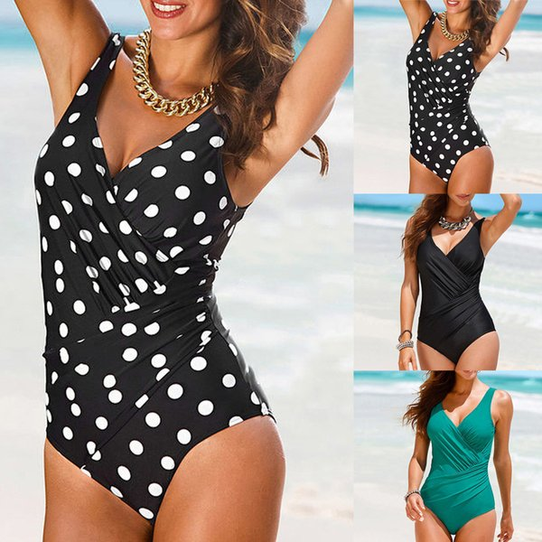 2019 Womens Natação Traje Maiô Acolchoado Monokini Push Up Conjuntos de Biquini Swimwear Biquíni Terno Swimsuit maiô conjunto