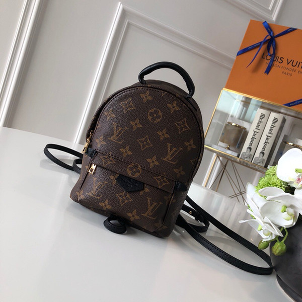 Top-Qaulity M41562 size 15..22..9cm Italy Designer fashion Backpack bag Silk Lining with Dust Bag package Free Shiping