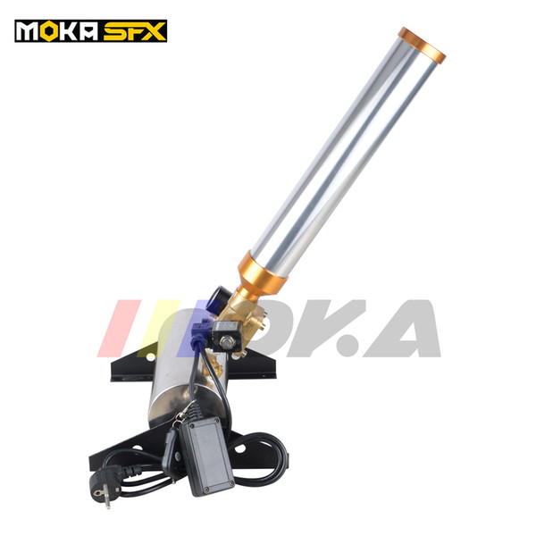 best selling Moka MK-C02 Stage Confetti Cannon Effect Whirlwind Machine Wedding Equipment Confetti launcher Color Paper Machine Free Shipping