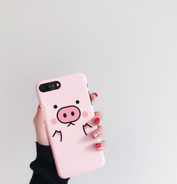 Mobile Phone Shell Cute Pig Mobile Phone Shell Creative Personality High Quality Mobile Phone Case For ipnone X XS XR