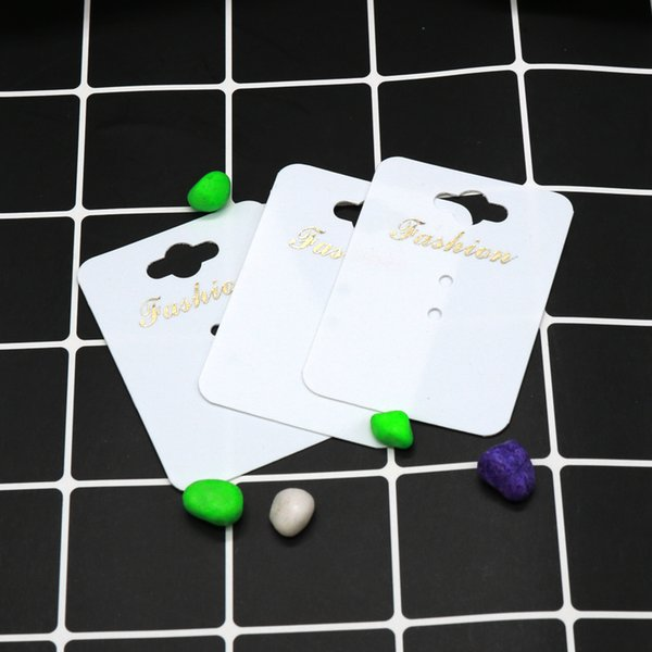 200pcs Paper/Plastic Handmade With Fashion Jewelry Cards,Necklace/Ring/Pendant Packing Cards Jewelry Displays Cards
