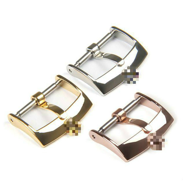 best selling New fashion watch accessories stainless steel material for Rolex pin buckle belt buckle 16 18   20mm
