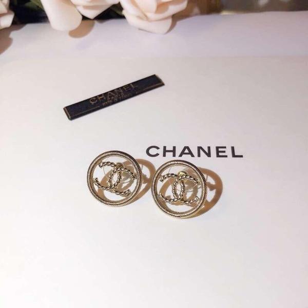 Diseñador Pendiente estilo oreja suave Invisible colgante Piercing para mujer espárragos plata nueva joyería
