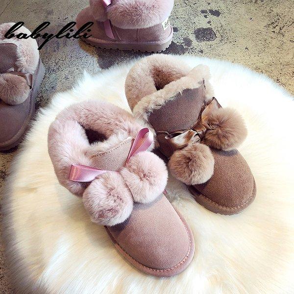Neve Botas Feminino Comfort Inverno Botas Mulheres sapatos de neve para mulheres inverno quente Fur Homens Plataforma de Moda Casual Shoes
