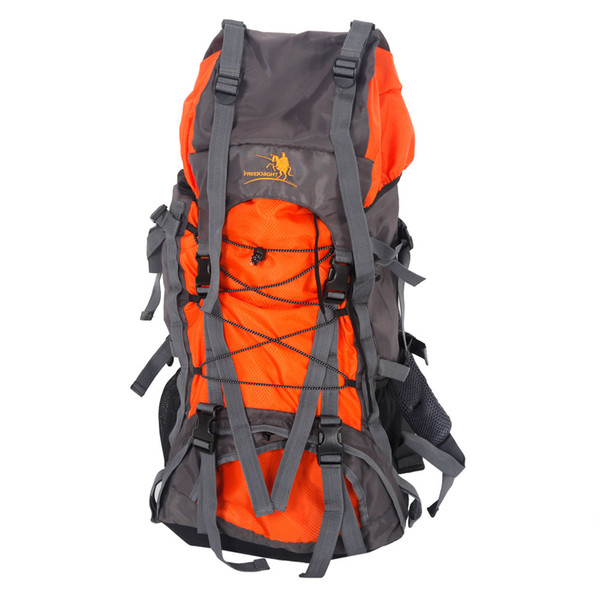 Free Knight SA008 60L Outdoor Waterproof Hiking Camping Backpack Orange