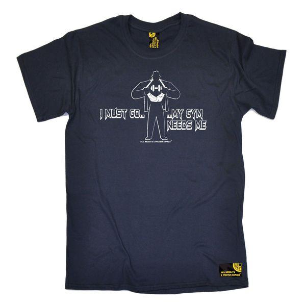 Я должен идти мои потребности меня мужские SWPS футболка день рождения мода подарок фитнес обучение Марка рубашки джинсы печати классический качество высокая футболка