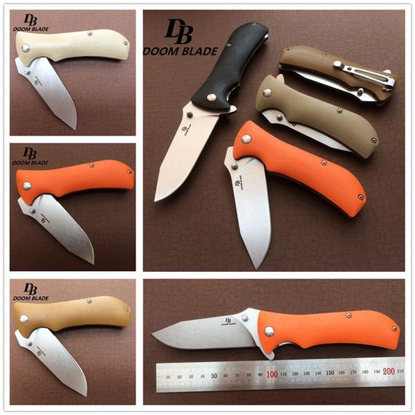 High-grade folding knife G10 handle folding knife Ball Bearing folding knife sharp knives