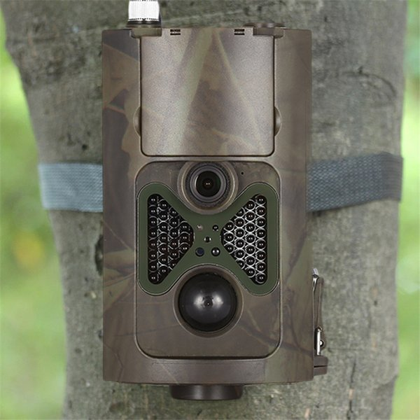 HC - 550G Hunting Camera 12MP 1080p HD Video 3G MMS GPRS Infrared Digital Trail Scouting Hunting Trail Camera LCD Displays Mode