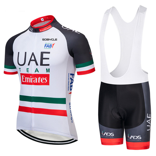 TEAM pro UAE cycling jersey bibs shorts suit Ropa Ciclismo Mens summer quick dry BICYCLING Maillot wear