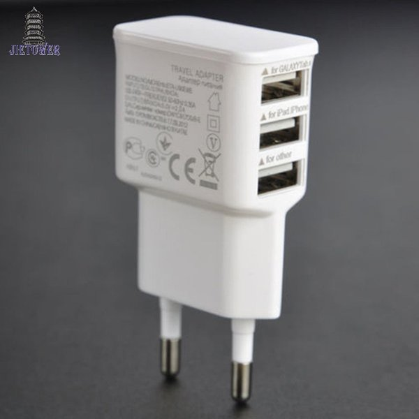 5V 2A EU Multi USB Charger Device Plug For Oneplus iPhone 6 5S 5 4S for Samsung Galaxy S5 Travel Usb Power Adapter Wall Charger