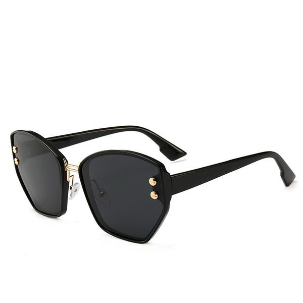 8de33bd1b01fe 2019 cat eye moda óculos de sol designer de moda mulheres populares óculos  de alta qualidade uv óculos de proteção de luxo marca elegante óculos de sol