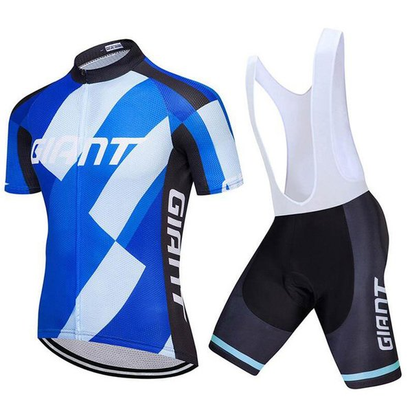 GIANT 2019 pro team Cycling Set MTB Bicycle Wear Bicycle Maillot Ropa Ciclismo Bike Uniform Cycling Jersey Suit Cycling Clothing Quick dry