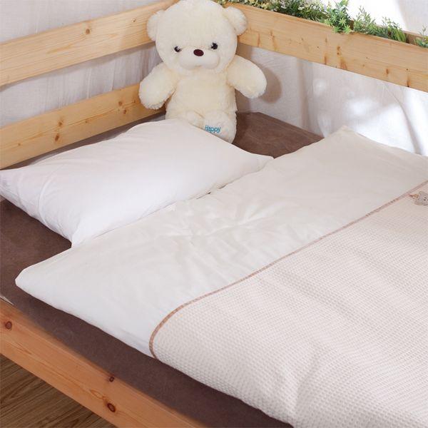 Nordic Baby Bedding Set Cotton Walf Checks Kids Sets in Crib Bed Duvet Cover Pillowcase for Newborn Baby Girl Boy Cot 2 pcs/set
