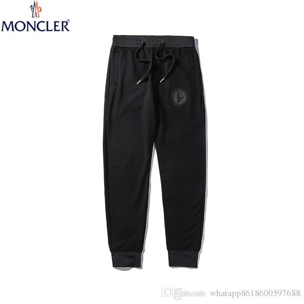 2020 New sportswear fitness Pants Casual Elastic cotton Mens Fitness Workout Pants skinny Sweatpants Trousers Jogger
