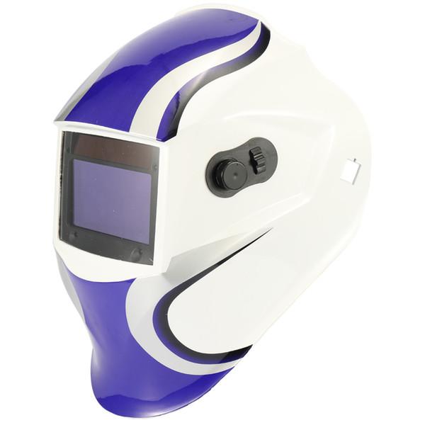 Acheter Casque De Soudure Tig Gmaw Avec Bouchon De Masque De Soudage à Lumière Changeante à énergie Solaire Avec Capteurs Darc De 538 Du