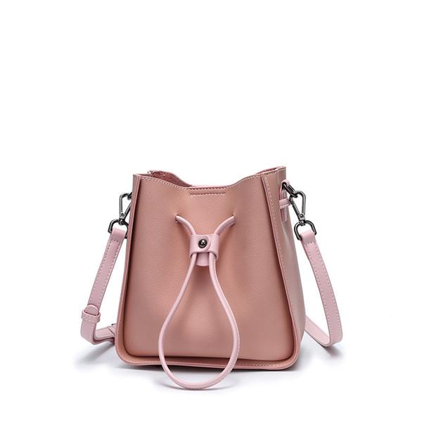 2019 Designer Handbags Purse Fashion Cowhide Bucket Handbag Tote Women's Shoulder Bags Backpack Come With Box N
