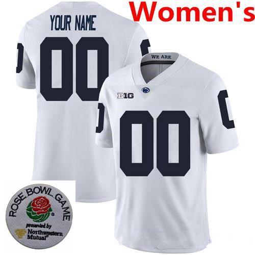 Женщины # 039; S Белого Название С Rose Bowl