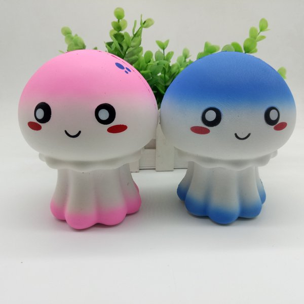 Decompression Jellyfish Anti Stress Face Reliever Jellyfish Autism Mood Squeeze Relief Healthy Toy Funny Gadget Vent Decompression toys