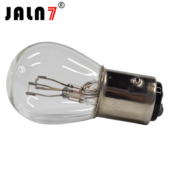 best selling S25 10PCS BA15D BAY15D BA15S BAU15S 1156 1157 P21 5W P21W PY21W 12V Clear Glass Lamp Brake Tail Bulb Car Indicator stop Lamp