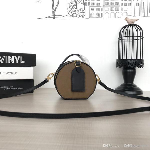 Hakiki deri Kadın Çanta mektuplar marka Tasarımcı Çanta Lüks kalite Lady moda Omuz Çantaları 2019 yeni stil M68276 size13 x 12 x 6.5