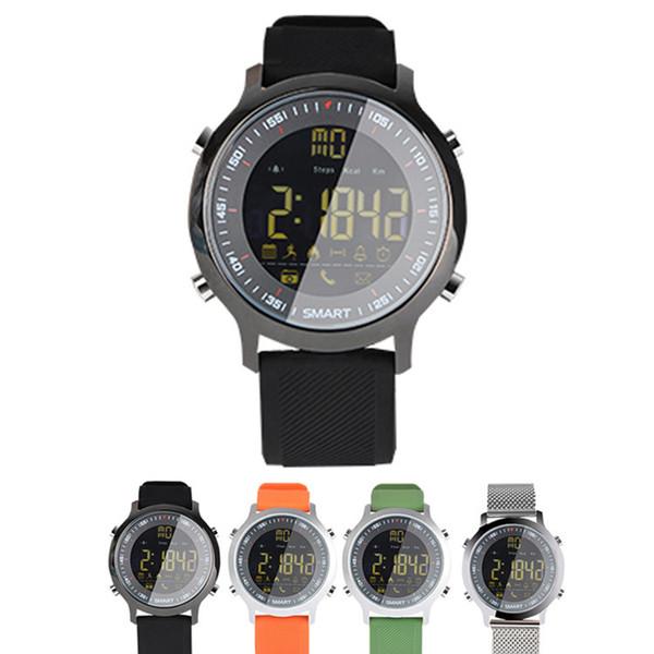 EX18 Akıllı İzle Profesyonel Dalış Spor Smartwatch Bluetooth Telefon İleti DHL tarafından Itin Kol IP67 Su Geçirmez Akıllı Saatler
